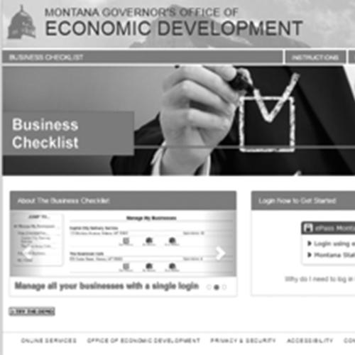 Montana Business Checklist