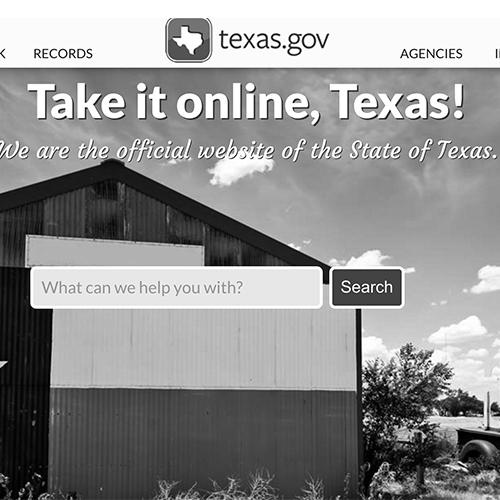 Texas.gov redesign