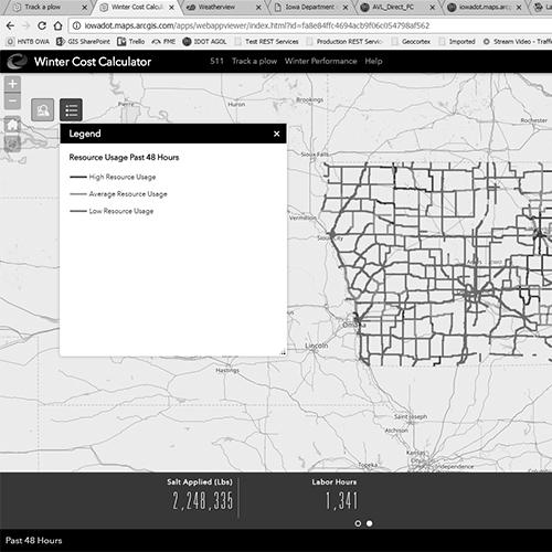 Iowa Dept. of Transportation