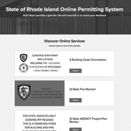 Rhode Island's Statewide ePermitting Initiative