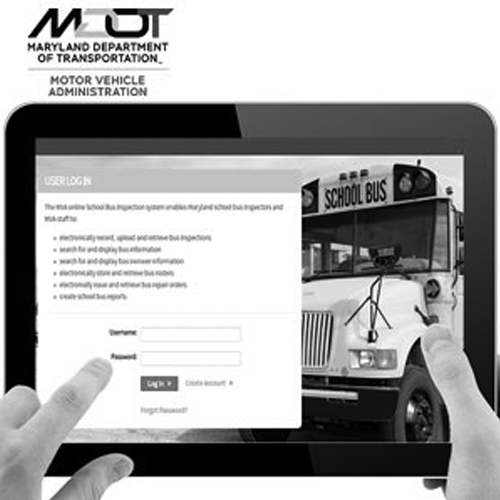 Maryland School Bus Mobile Safety Inspection Platform